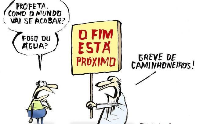 Para o Jornal O Dia, Jota A descreve o que muita gente está pensando: o fim do mundo (ou do Brasil) está próximo