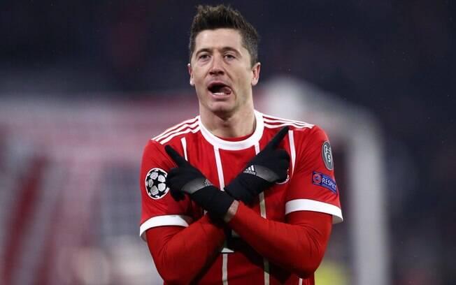 Robert Lewandowski é do Bayern de Munique