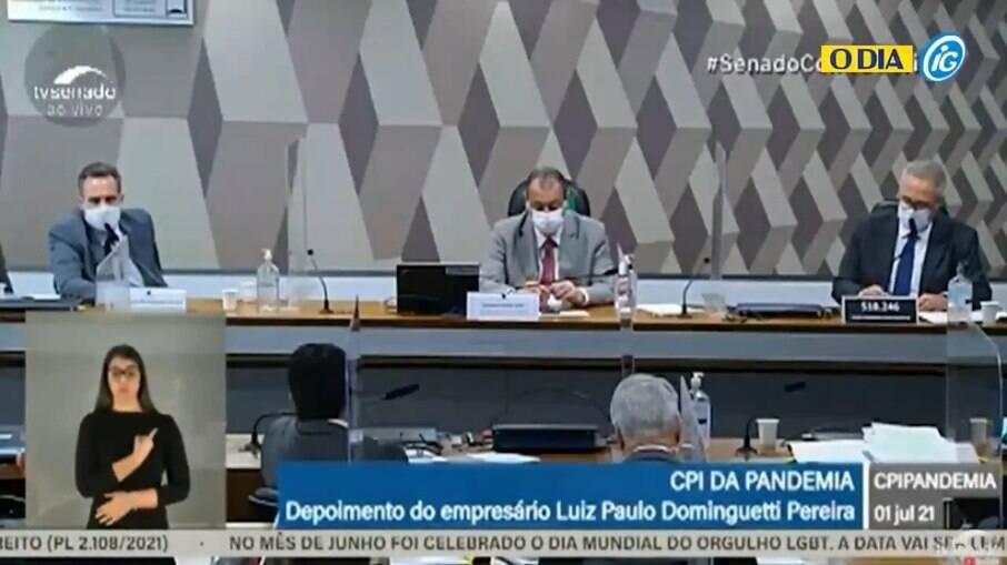 Dominguetti depõe à CPI da Covid-19