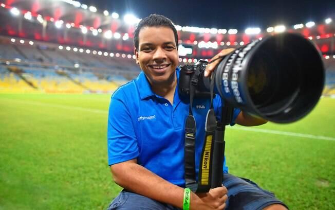 Buda Mendes, fotógrafo da Getty Images na Copa América