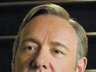 "Kevin Spacey em ""House of Cards"", da Netflix"