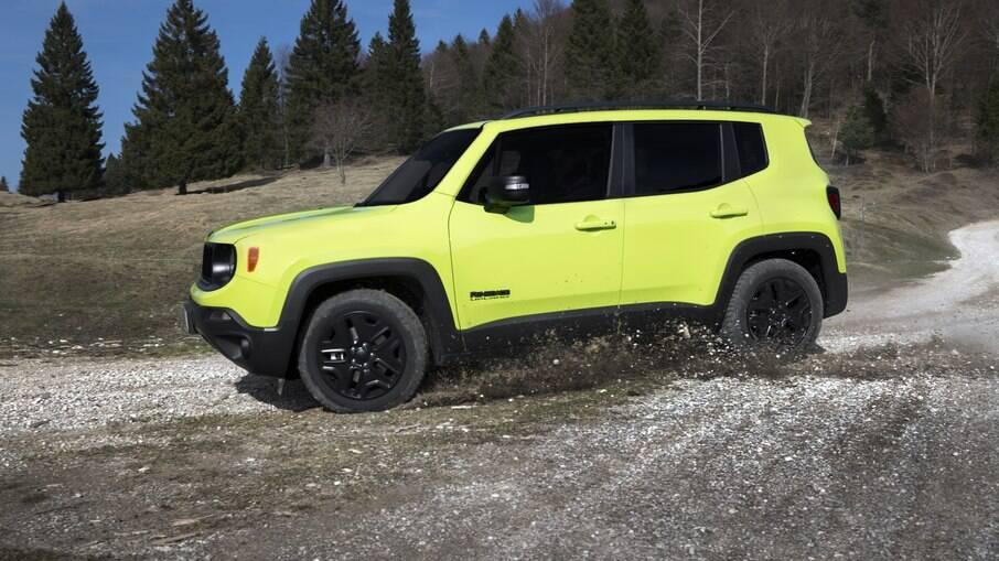 Jeep Renegade Upland: versão mais acessível lançada na Europa em 2017 tinha cores chamativas
