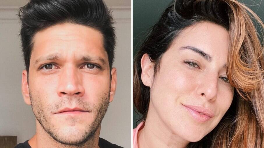 Armando Babaioff e Fernanda Paes Leme