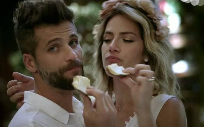 Bruno Gagliasso e Giovanna Ewbak são o casal publicidade da atualidade