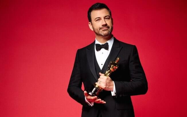 O apresentador Jimmy Kimmel fará a apresentação do Oscar mais uma vez neste domingo (04)