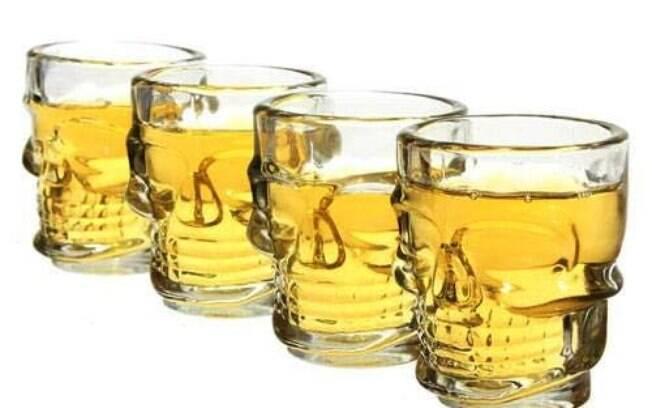Kit com seis copos