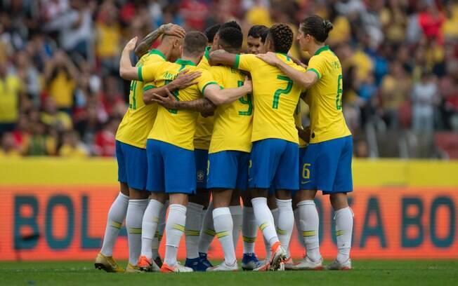 O Brasil goleou Honduras por 7 a 0 no último amistoso antes do início da Copa América
