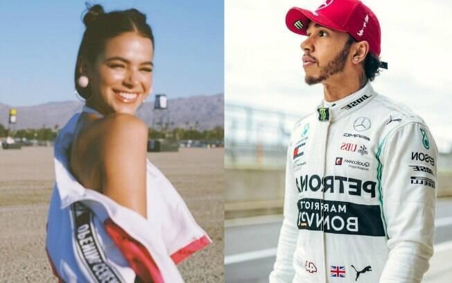 Bruna Marquezine e Lewis trocam follows e curtidas no Instagram