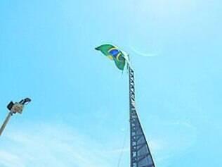 Cerimônia ocorreu na praça da Bandeira, no Mangabeiras