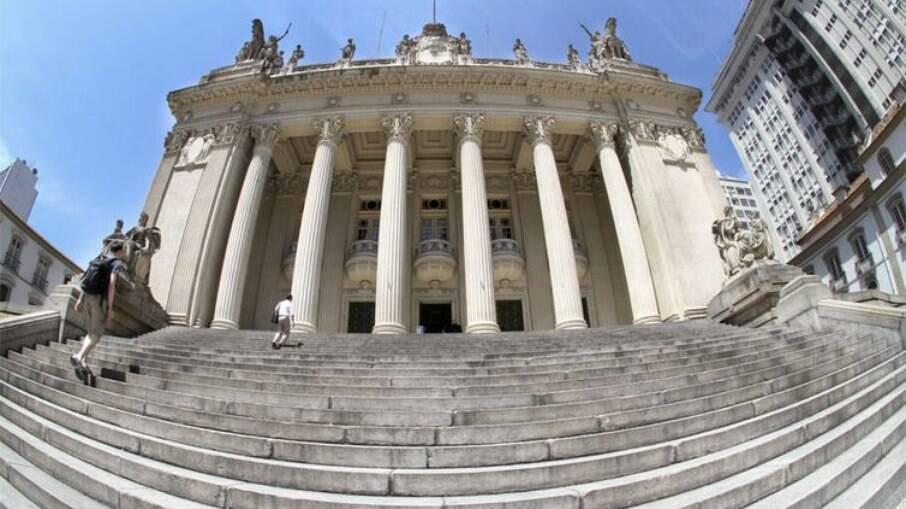 Fachada da sede da Assembleia Legislativa do Rio de Janeiro (Alerj)
