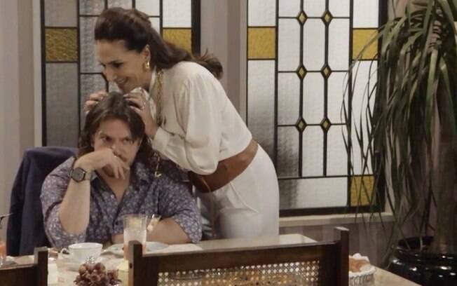 Quinzinho e Mercedes Ferreira Lima em