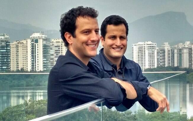 João Ricardo Mendes e José Eduardo Mendes, fundadores do Hotel Urbano