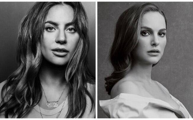 Lady Gaga e Natalie Portman invertem papeis em novos trabalhos no cinema e buscam uma indicação ao Oscar