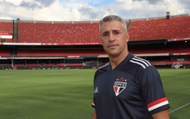 Hernán Crespo, técnico do São Paulo