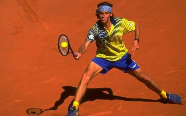 Guga venceu seu primeiro Roland Garros em 1997 e impressionou o mundo do tênis