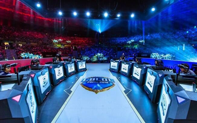 League of Legends ganhou competição nacional no Brasil