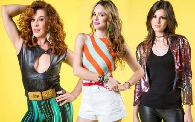 Claudia Raia, Isabelle Drummond e Camila Queiroz