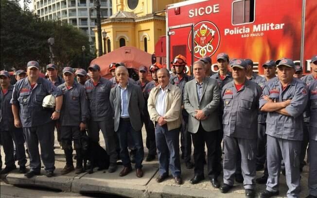Governador de São Paulo, Márcio França anunciou fim das buscas e afirmou que tragédia deve servir de exemplo