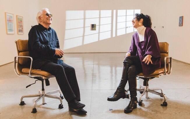Nelson Motta entrevista Marisa Monte para a Amazon