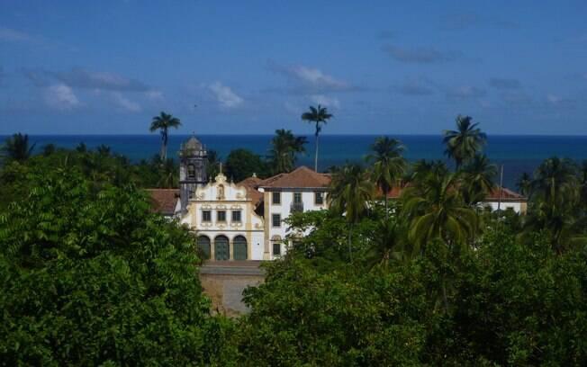Horizonte de Olinda, com suas praias e igrejas