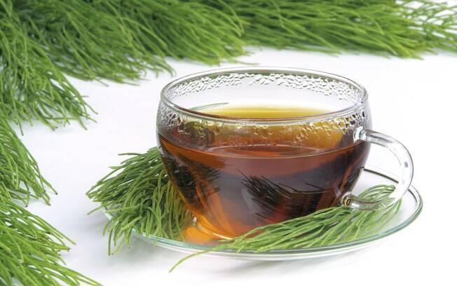3. Chá de cavalinha: Assim como o chá verde, possui ação diurética. Foto: Thinkstock/Getty Images