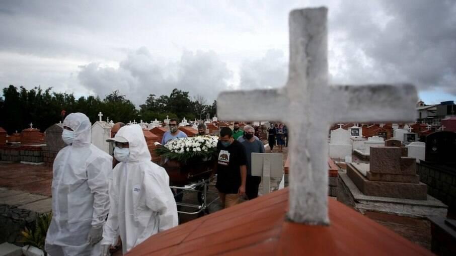 Brasil registrou ... novas mortes por Covid-19 nas últimas 24 horas