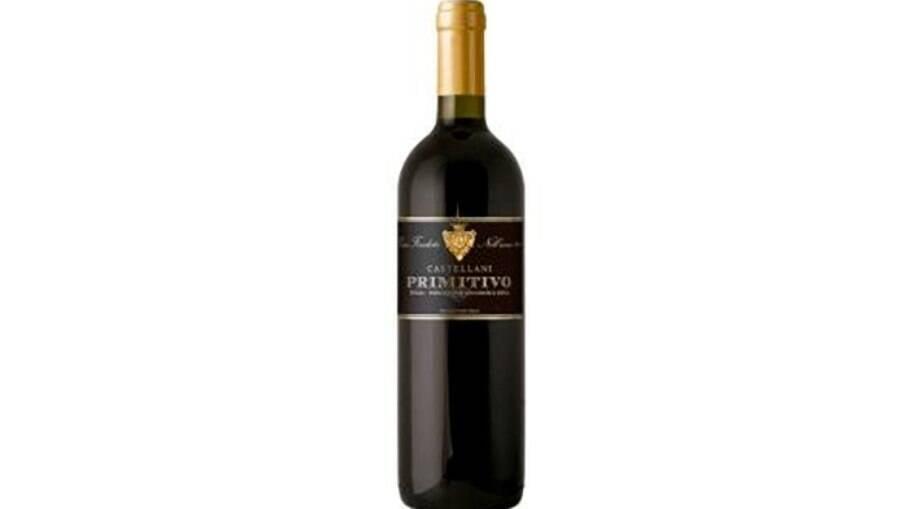 Vinho italiano Castellani Primitivo
