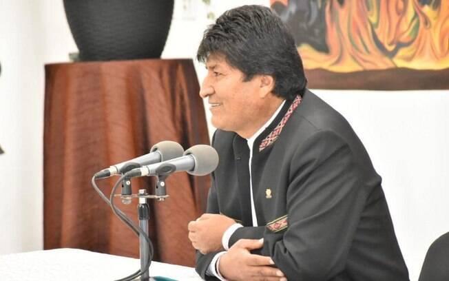 Evo Morales comemorou vitória e disse que soberania boliviana deve ser respeitada