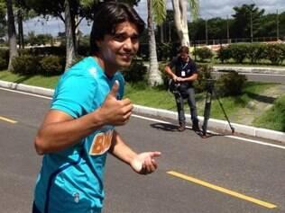 Marcelo Moreno corre na Toca