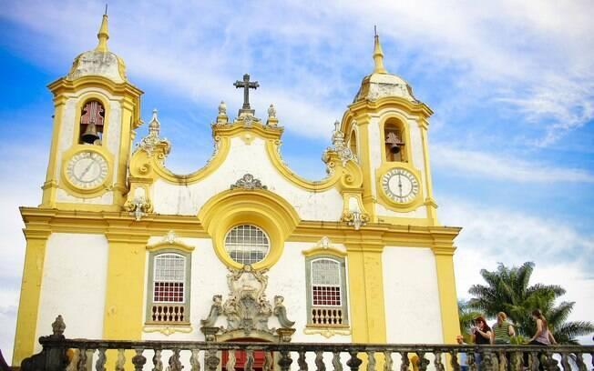 A igreja de Santo Antônio é um dos mais belos templos de Minas Gerais