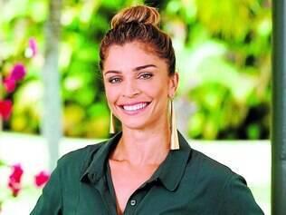 Acostumada. Universo da beleza não é uma novidade na vida de Grazi, que já foi Miss Paraná
