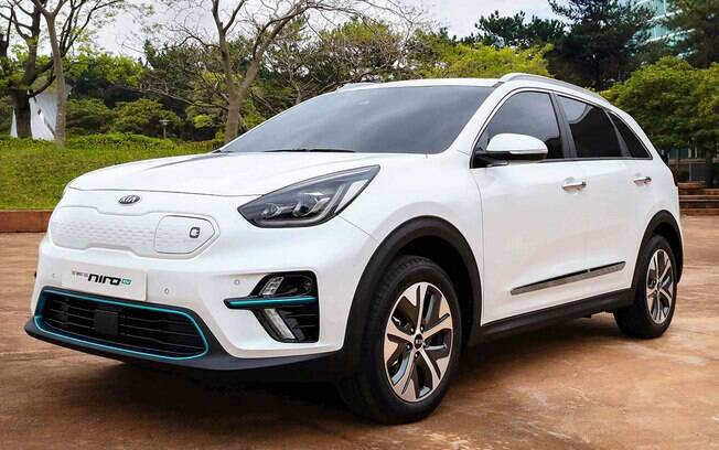 De cabeça nos carros elétricos, a Kia lançará este ano a versão do Niro, um crossover que oferece 383 km de autonomia