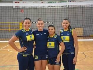 Tandara, Gabi, Léia e Carol acreditam que podem fazer a diferença para o Brasil levar o título do Mundial