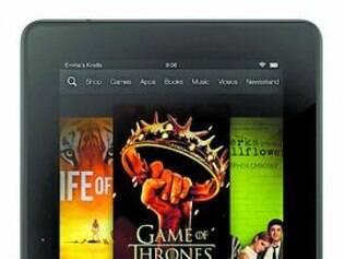 Fire HDX é o Kindle top de linha