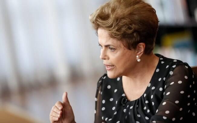 A presidente afastada Dilma Rousseff: ela nega ter conhecimento de quaisquer irregularidades em sua campanha