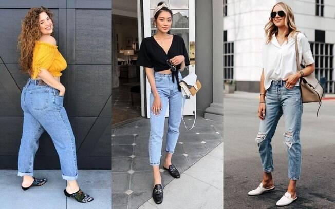 Mule e jeans