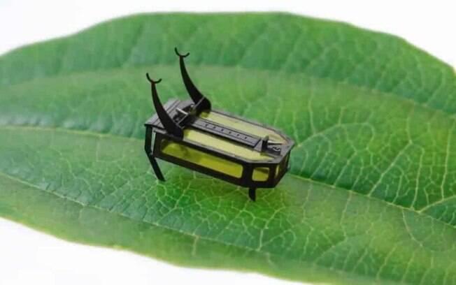 Microrrobô consegue se locomover sem bateria