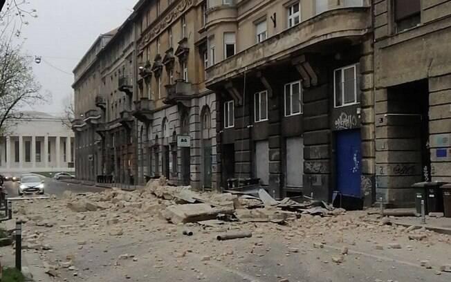 Zagreb está em quarentena para conter o coronavírus