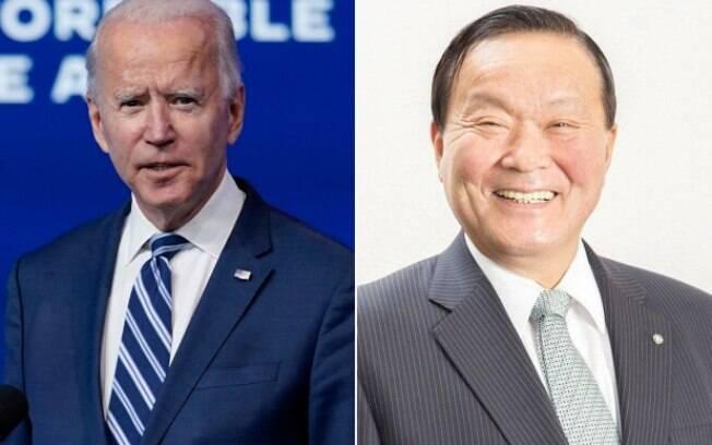 Joe Biden, presidente eleito do Estados Unidos e
