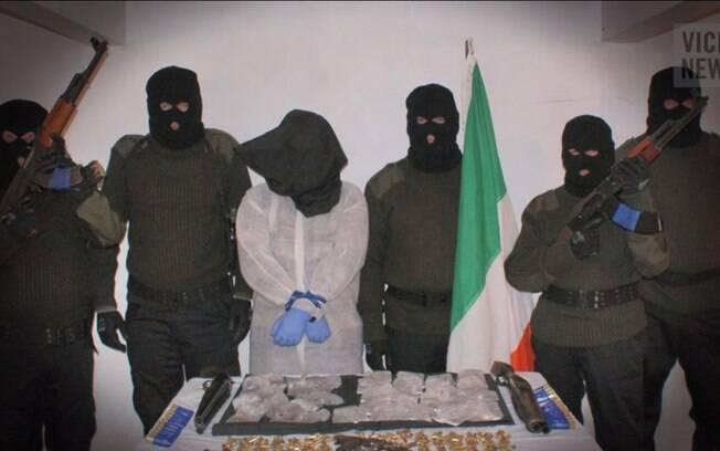 O IRA Real, facção radical do IRA, foi criado por ativistas que se opõem ao acordo de paz de 1998 e tem renda anual de até US$ 50 milhões. Foto: Reprodução/Youtube