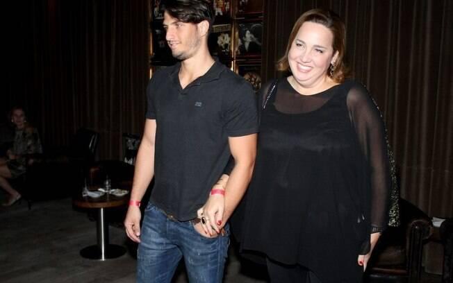 Claudia Jimenez e Rodrigo Bonadio