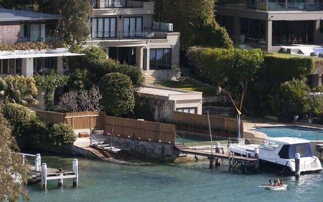 Leonardo DiCaprio: de férias na Austrália, ator recebe