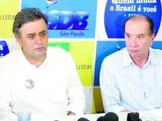 Parceria. Aécio Neves e Aloysio Nunes podem estar juntos na chapa do PSDB para a disputa de outubro