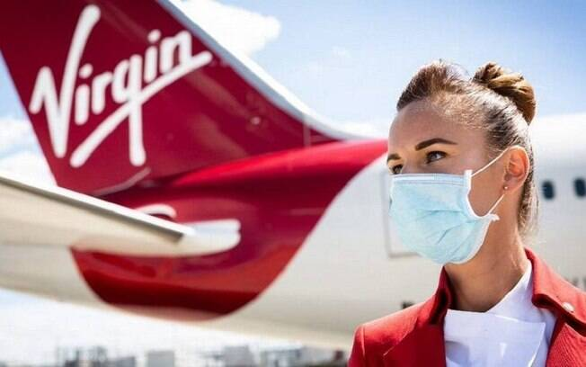 Virgin Atlantic vai oferecer seguro-viagem em caso de Covid-19