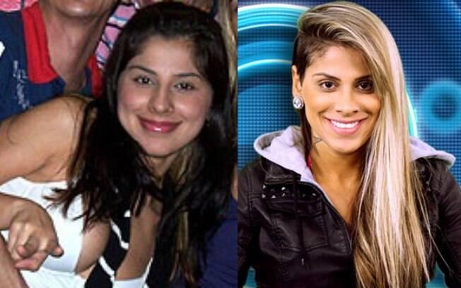 Vanessa BBB1: antes e depois