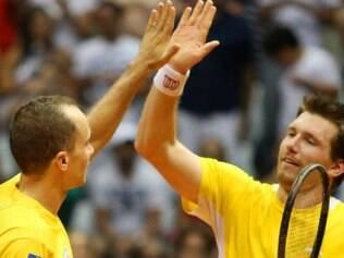 Bruno Soares e Alexander Peya vão em busca do primeiro título do ano