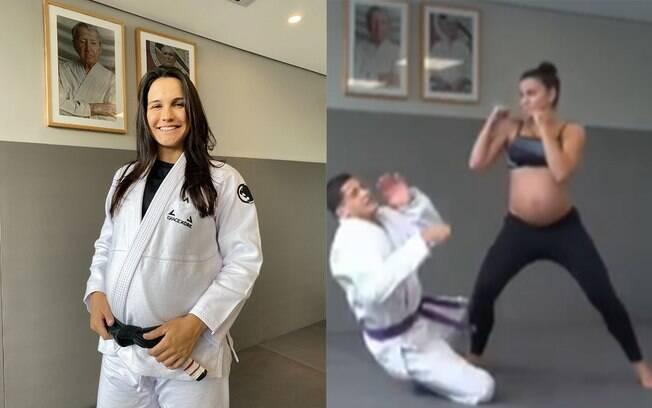 Kyra Gracie é criticada por treinar jiu-jitsu prestes a dar à luz