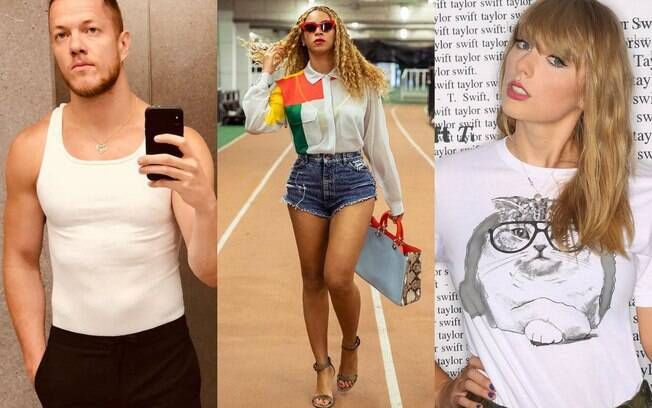 Dan Reynolds, Beyoncé e Taylor Swift