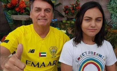 Filha de Bolsonaro é aceita em Colégio Militar sem seletiva