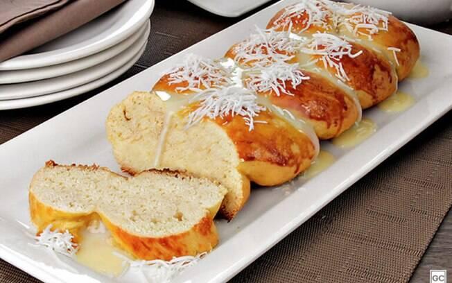 Rosca caseira para comemorar o Dia Mundial do Pão!